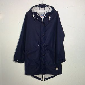 Penfield Madewell Kingman rain jacket large navy